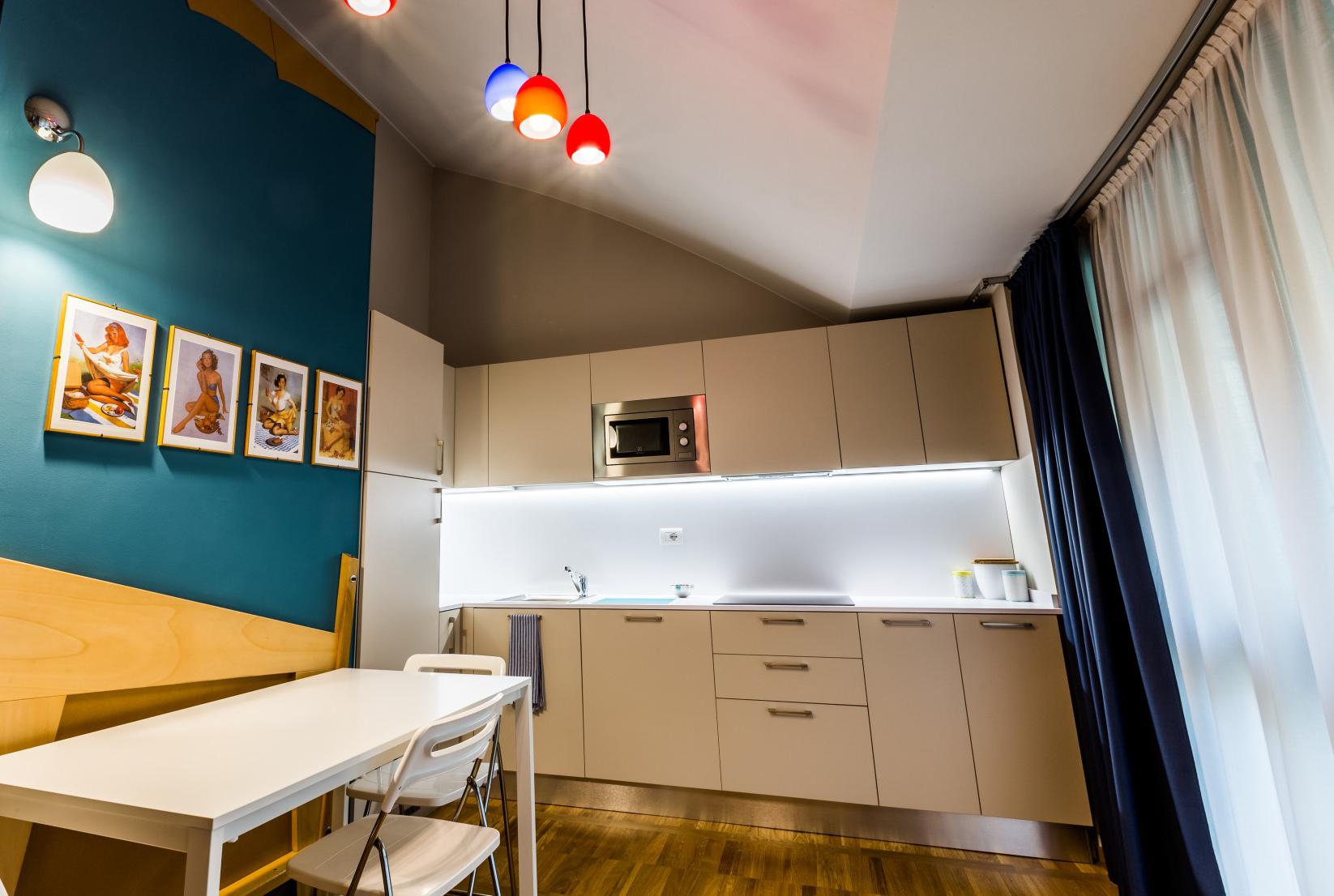 Cucina - Juvarra House - Torino Centro